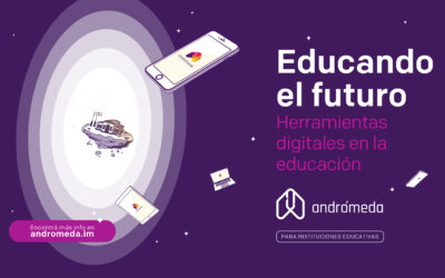 Apostemos por las tecnologías digitales en la educación.